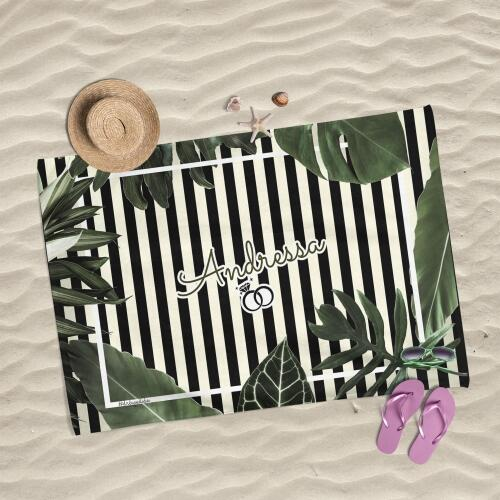 Canga de Praia - Lembrança para Casamento e Despedida de Solteira